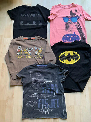 Bundle Of 5 Boys Next T-shirts And Tops Age 7