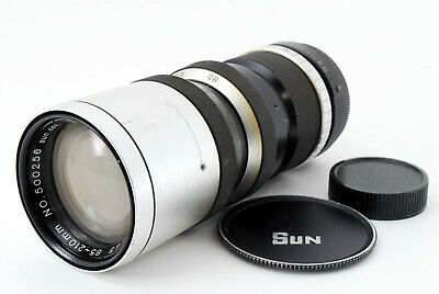 [AS IS] Sun YS-85 85-210mm f/4.5 Zoom Lens for M42 Mount From Japan
