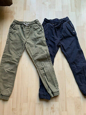 2 Pairs Boys Next Cargo Pants / Trousers / Joggers Age 8