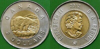 2017 Canada Paint 150 Toonie Graded as Brilliant Uncirculated From Original Roll