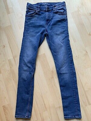 Boys Super Skinny Jeans From H&M Age 13/14 Adjustable Waist