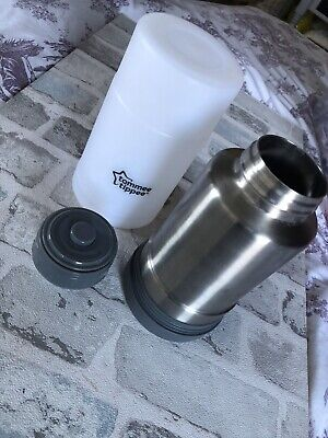 Tommee Tippee Closer to Nature Baby Bottle Food Warmer Flask Compact Travel