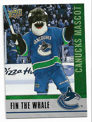 2019-20 Upper Deck National Hockey Card Day Canada MASCOT # M-8 (Fin the Whale)