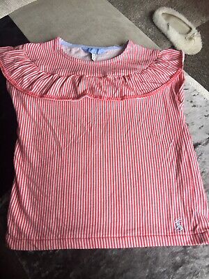 Girls JOULES Candy Striped Top - Age 6