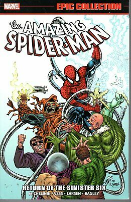 Marvel Amazing Spider-Man Epic Collection Vol 21 Return of the Sinister Six Tpb