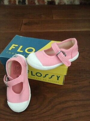 Baby Girls pink flossy shoes, worn twice and Imaculate Free Pair With Them Also