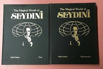 The Magical World of Slydini - Two Volume Set 1979 by Karl Fulves RARE
