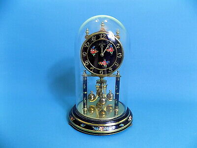 Kundo Vintage Torsion Anniversary Clock & Glass Dome