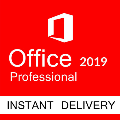 Microsoft Office Professional Plus Pro 2019 Activation Product Key