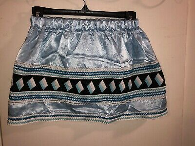 Native American Traditional Seminole Patchwork Skirt Girl  / Young Women Skirt