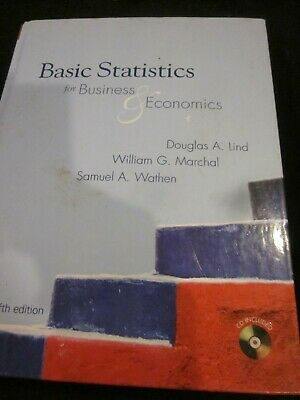 Basic Statistics For Business & Economics Fifth Edition Pre-Owned