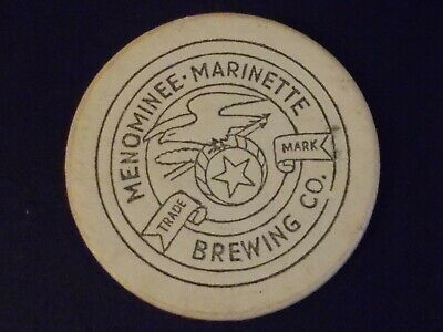 MENOMINEE MARINETTE BREWING CO. advertising casino gaming poker chip