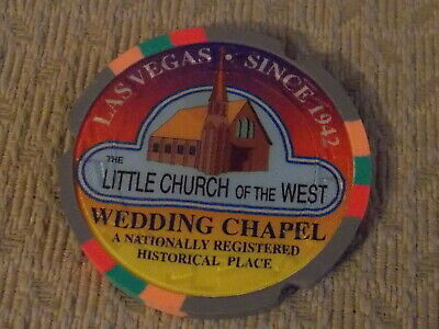 LITTLE CHURCH OF THE WEST WEDDING CHAPEL advertising casino gaming Poker chip