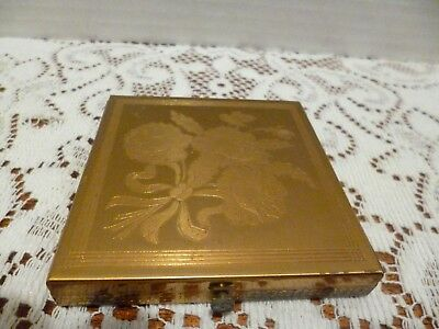 Vintage Dorset Fifth Avenue Mirrored Makeup Powder Compact Case Only