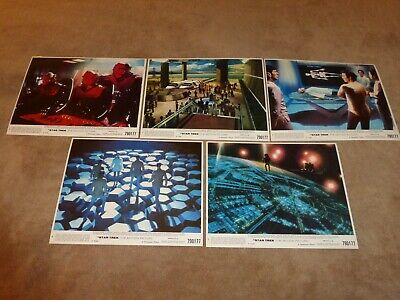 Star Trek The Motion Picture Original Lobby Cards 8x10 Set of 5 of 8