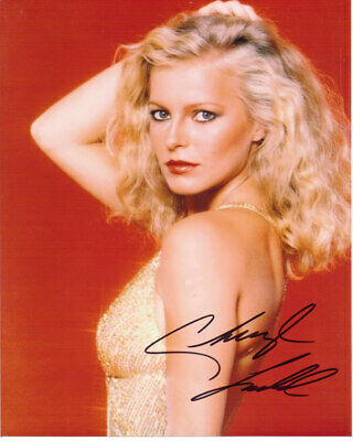 Cheryl Ladd Sexy Actress Charlies Angels Signed 8X10 Sexy Photo With Coa
