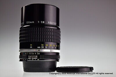 NIKON AI-S NIKKOR 135mm f/2.8 Excellent
