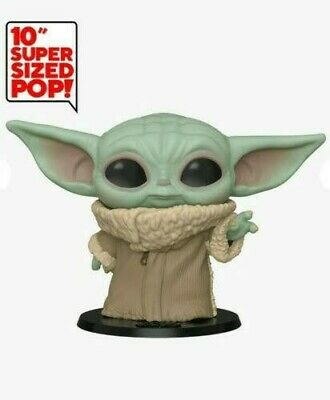 Funko Pop Star Star Wars Baby Yoda The Mandalorian Pre-Order 10 Inch Expected In
