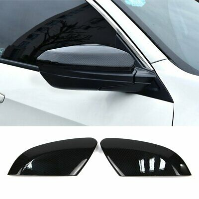 Rearview Side Wing Mirror Cover for Honda Civic 2016 2017 2018Carbon Fiber Style