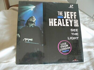 The Jeff Healey Band, See The Light, Laserdisc