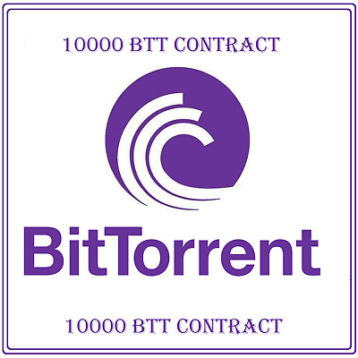 10000 BitTorrent (BTT) CRYPTO MINING-CONTRACT (10000 BTT ), Crypto Currency
