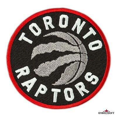 🏀Toronto Raptors Patch, NBA Sports Team Emblem, Embroidered Basketball, 3.5""