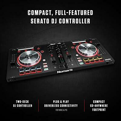 Numark Mixtrack Pro 3   All In One 2 Deck DJ Controller for Serato DJ Including