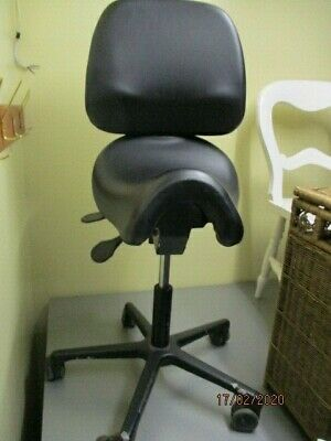 Bambach saddle chair with back restused