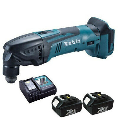 Makita DTM50Z 18V LXT Oscillating Multicutter with 2 x 3.0Ah Batteries & Charger