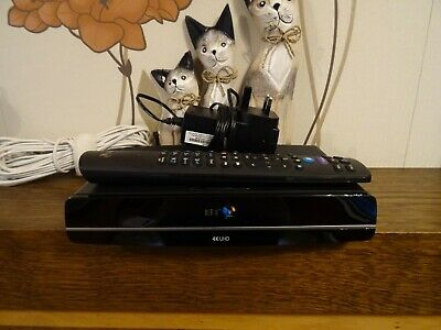 BT YouView Box ULTRA HD Humax DTR-T4000 G4 Freeview  500GB Twin Tuner Recorder