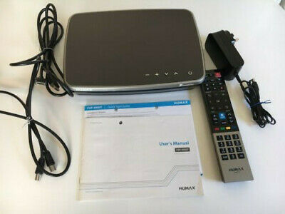 Humax FVP-4000T 500GB Freeview Set Top Box Recorder Play HD TV Used