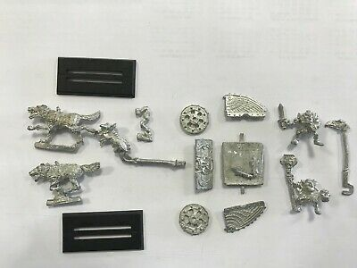 Warhammer Aos Carro Dei Lupi Goblini - Goblin Wolf Chariot - Oop From '90