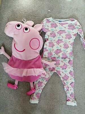 Peppa Pig Girls pyjama Bundle Age 2-3