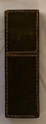 Antique 18th/19th century leather étui with gilt boundaries.