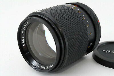 [Near Mint] Yashica DSB 135mm f/2.8 Lens for Yashica/Contax Mount From Japan