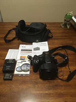 Panasonic LUMIX FZ2500 20.1MP Digital SLR Camera - Black (Kit w/ 20X LEICA...