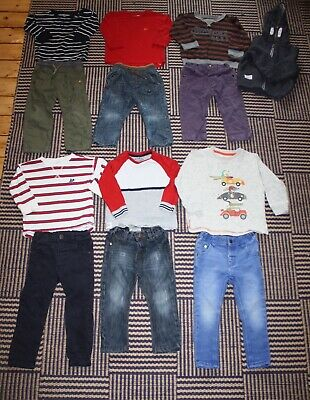 Baby Boys ALL NEXT 12 - 18 Months Outfit Bundle 13 Items Jeans Trousers Tops