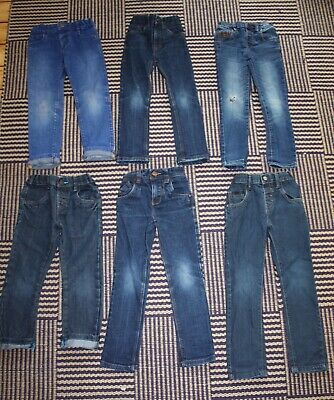 Boys Age 4 - 5 Years Jeans Bundle 5 Pairs - NEXT and M&S