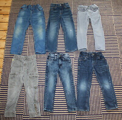 Boys 3 - 4 Years ALL NEXT Jeans  / Trousers Bundle - 6 Pairs