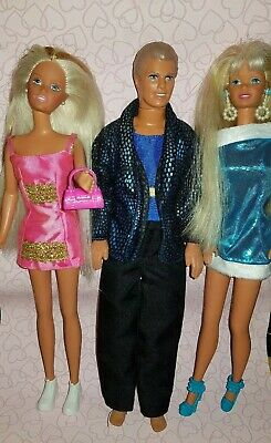 Barbie Ken And Stacie Pearl Beach 1997
