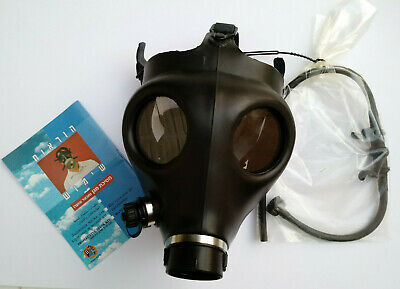 Israeli civilian gas mask (one size) with drinking straw