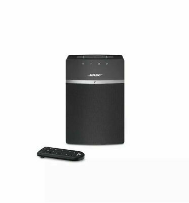 Bose SoundTouch 10 Wireless Music System - BLACK Works with Alexa USB HD MP3