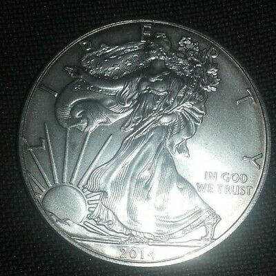 Pièce USA 1 Dollar 1 Once Argent American Silver Eagle 2014