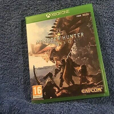 Monster Hunter World Xbox ONE Game. Mint