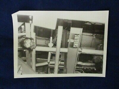 Glossy Press Photo 1985 General Chemical Co. 'mask' Leland St. Framingham MA