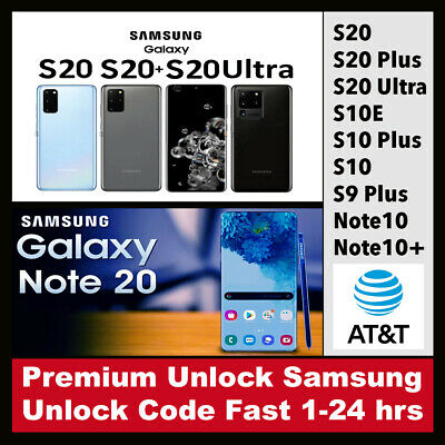 Factory Unlock Codes for Samsung AT&T USA – Premium Service All Models All imei