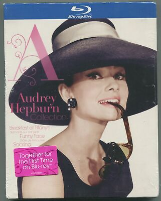 Audrey Hepburn * 3 Movie Collection * Blu-Ray * New & Sealed