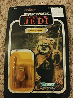 STAR WARS SPACE OPERA WICKET Electric March Figure F//S w//Tracking# Japan New
