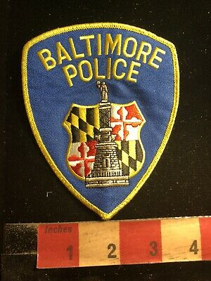 As-Is Police / Security Related Patch BALTIMORE POLICE 90RA