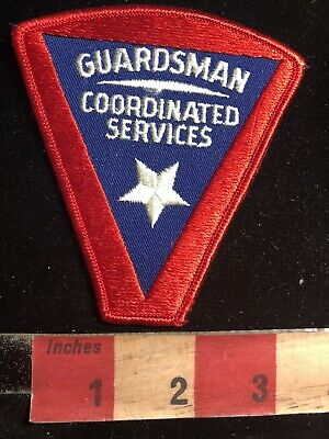 Police / Security Related Patch GUARDSMAN COORDINATED SERVICES 90RA